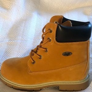 KIDS' LUGZ  CASUAL BOOTS COLOR:  GOLDEN WHEAT